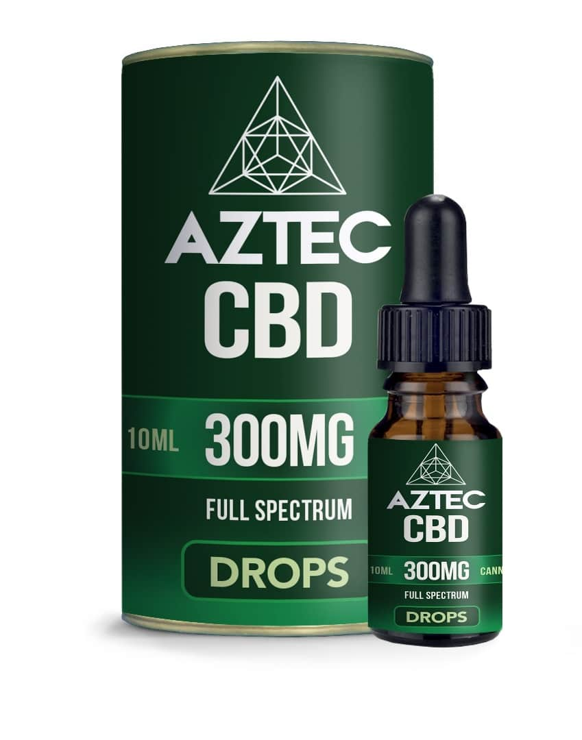 CBD Oil Drops - 300mg