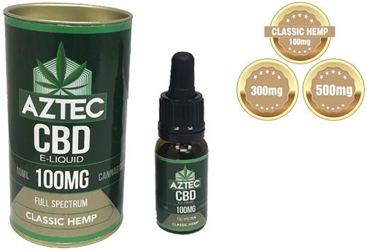 Aztec CBD Classic Hemp E liquid