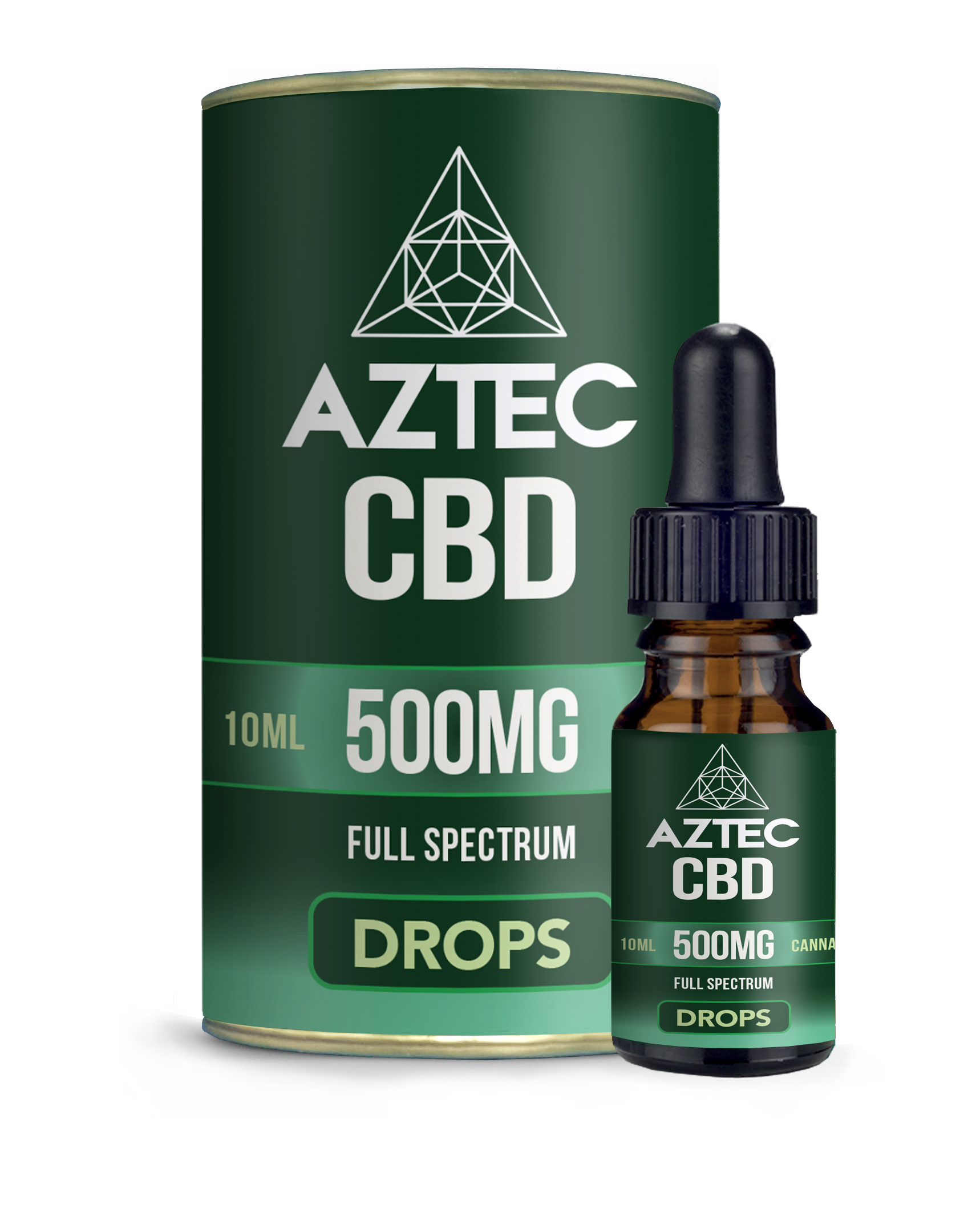 CBD Oil Drops - 500mg