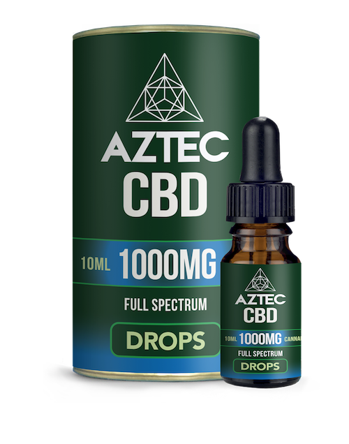 CBD Oil Drops - 1000mg