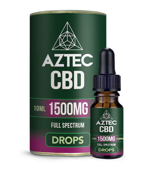 CBD Oil Drops - 1500mg