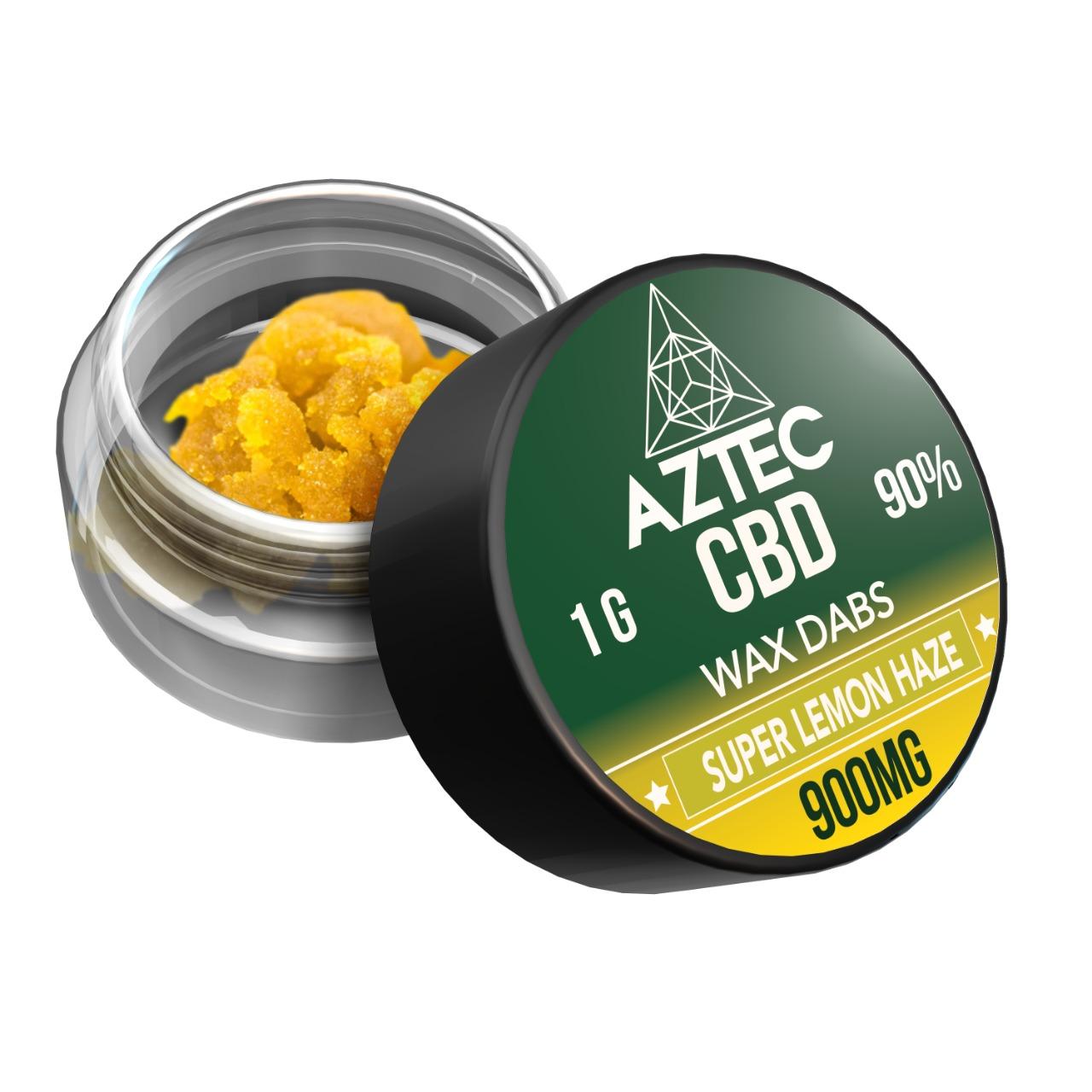 CBD Wax Super Lemon Haze 900mg