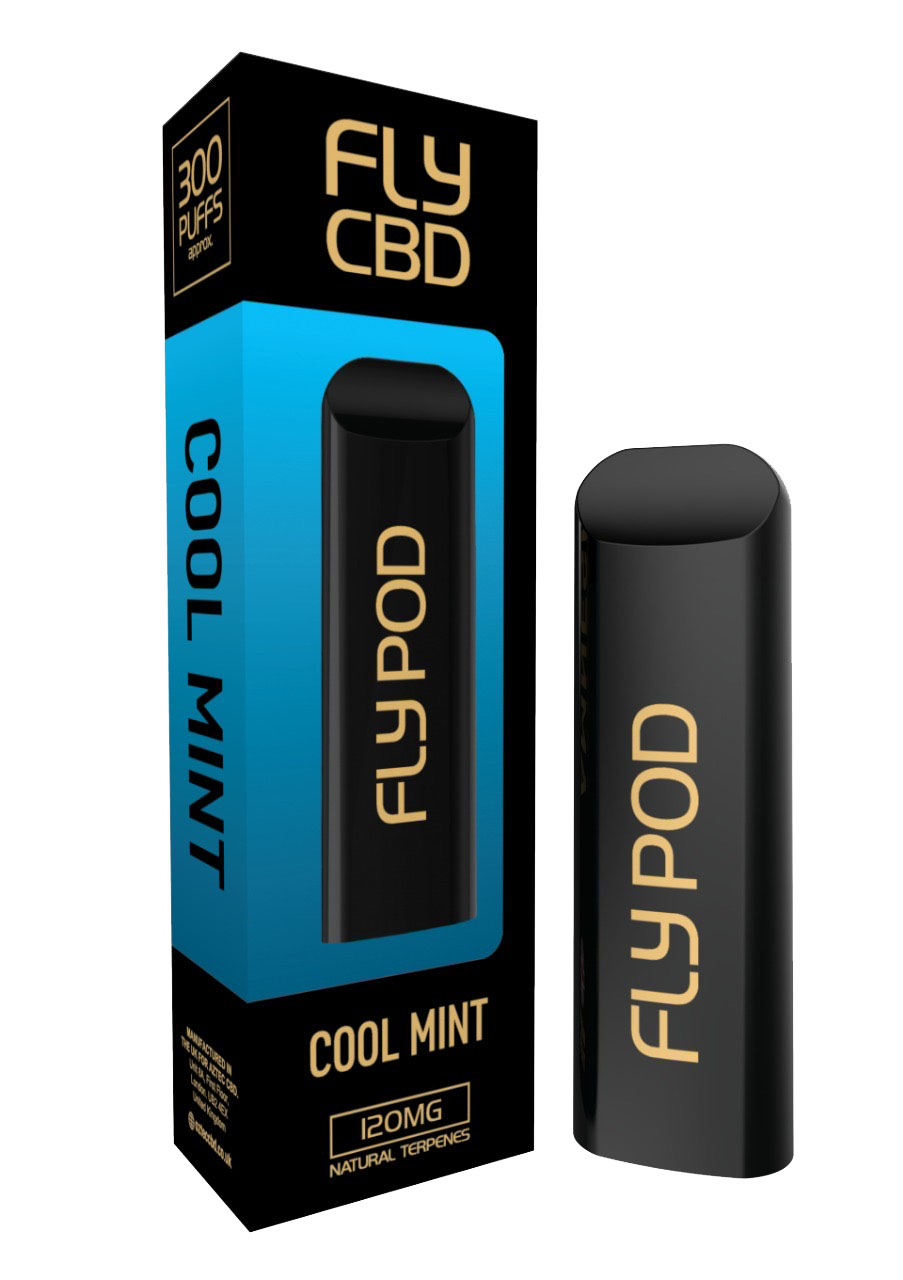 FLY CBD E-PEN COOL MINT 120MG