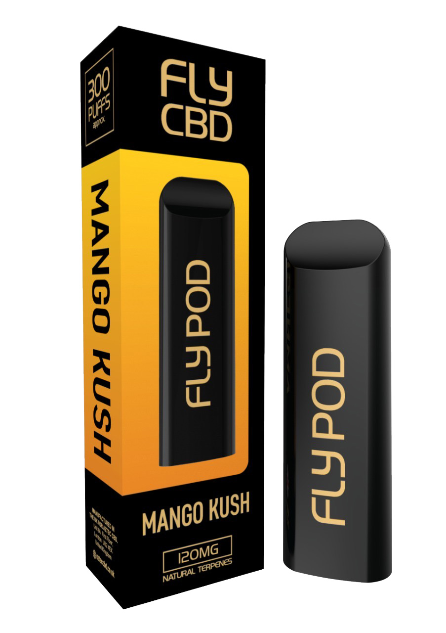 FLY CBD E-PEN MANGO KUSH 120MG