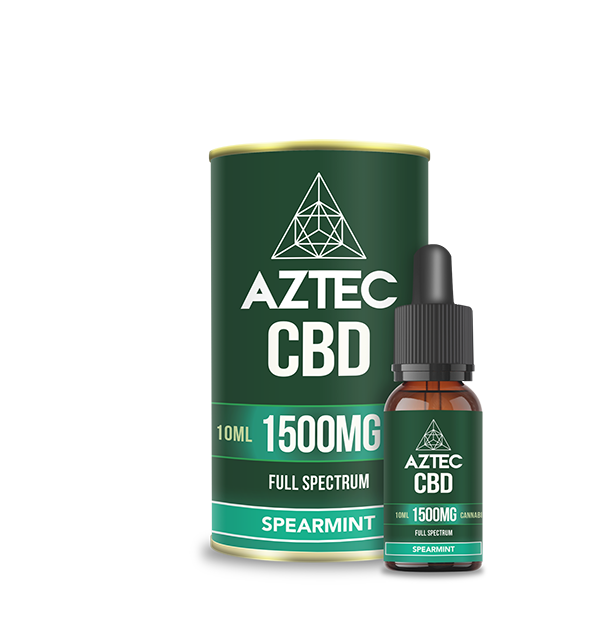 Spearmint CBD Oil Drops - 1500mg