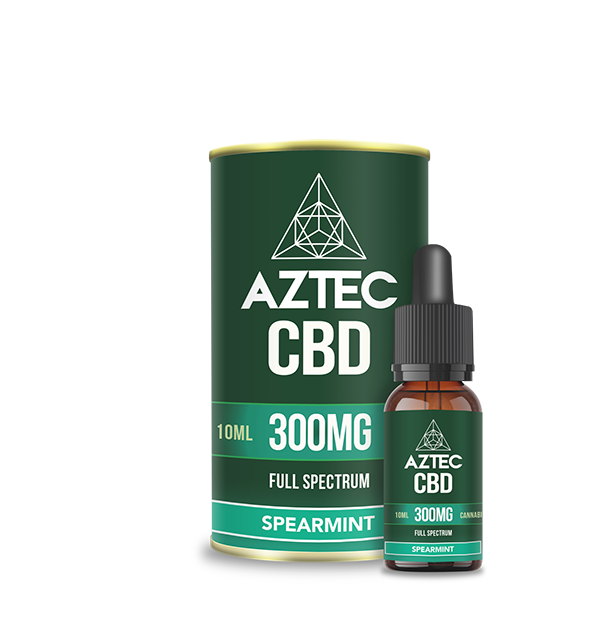 Spearmint CBD Oil Drops - 300mg