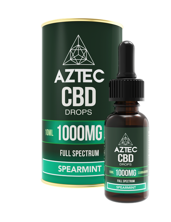 Spearmint CBD Oil Drops - 1000mg