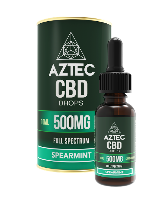Spearmint CBD Oil Drops - 500mg