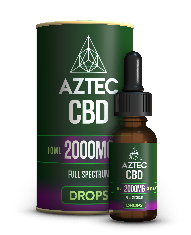 CBD Oil Drops - 2000mg