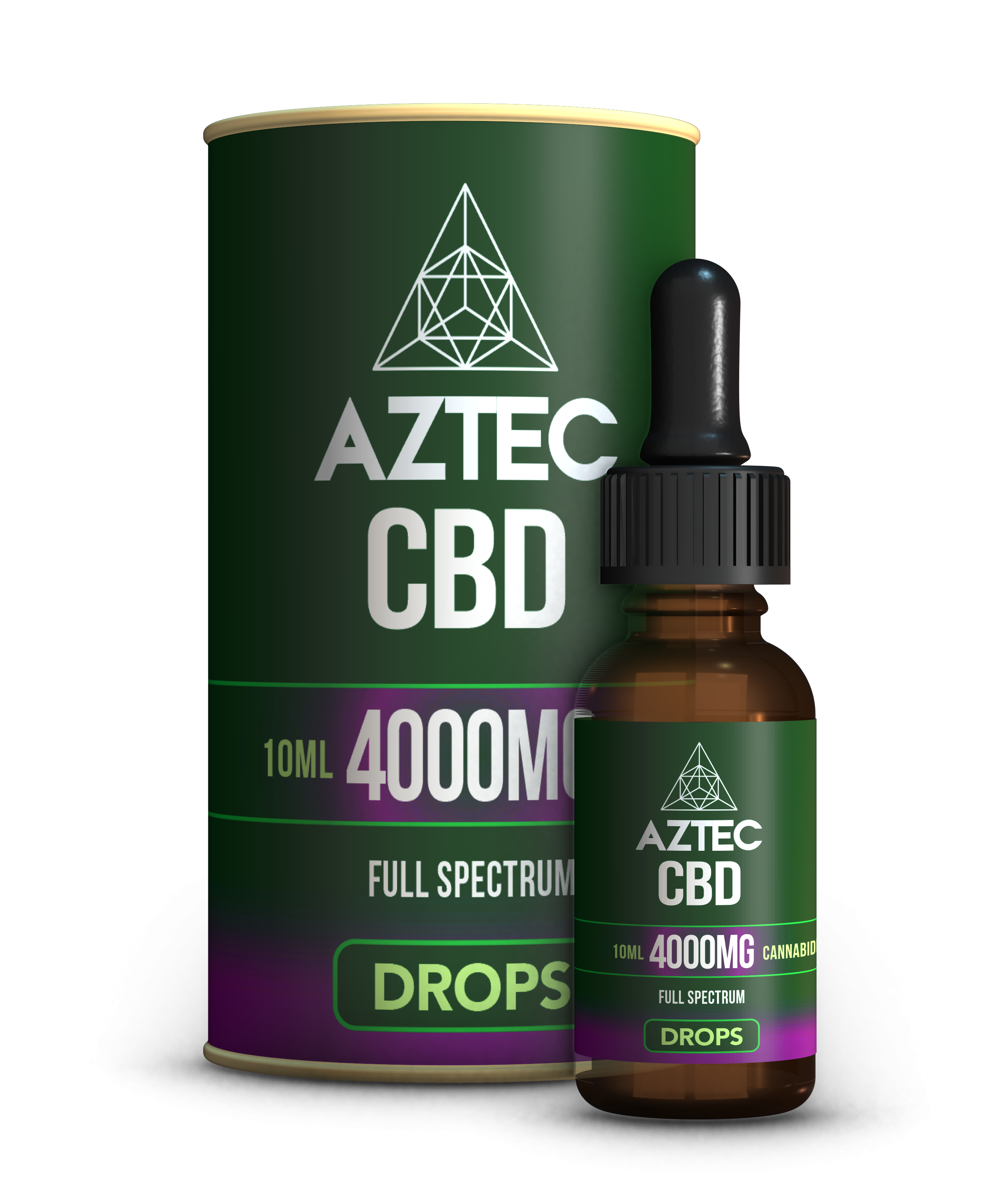 CBD Oil Drops - 4000mg