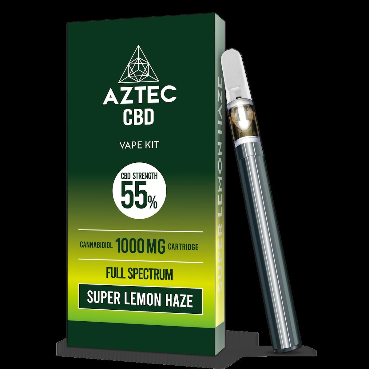 Aztec Super Lemon Haze 55% CBD Vaping Kit