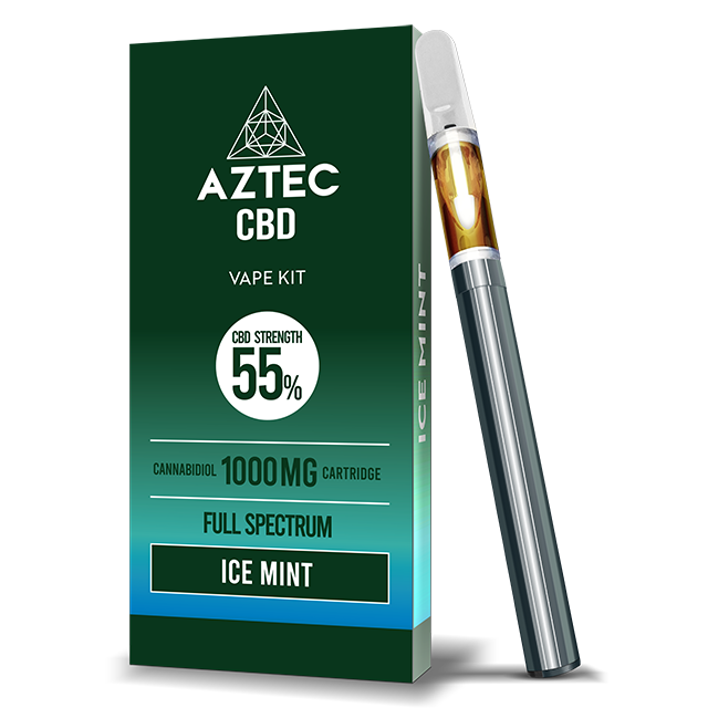 Aztec Ice Mint 55% CBD Vaping Kit