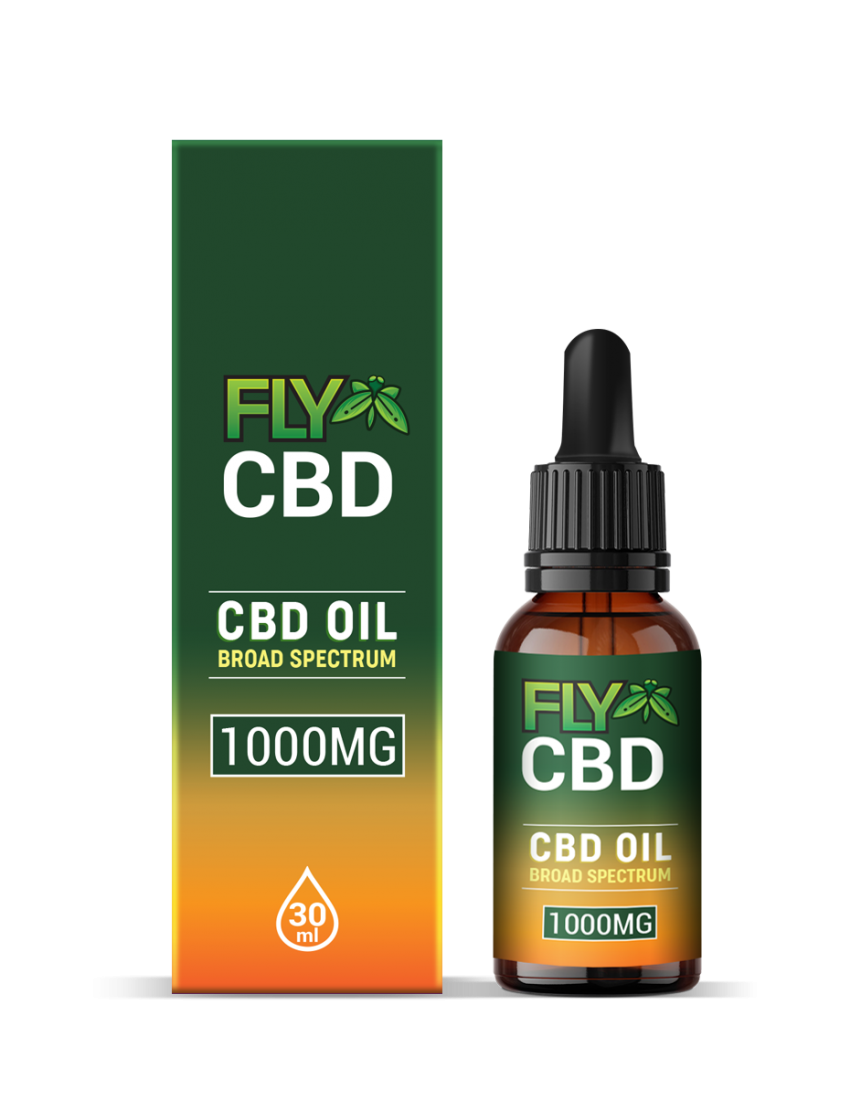 Fly CBD 1000mg Oil Drop
