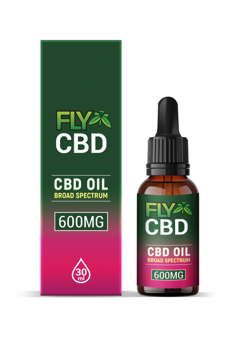 Fly CBD 600mg Oil Drop