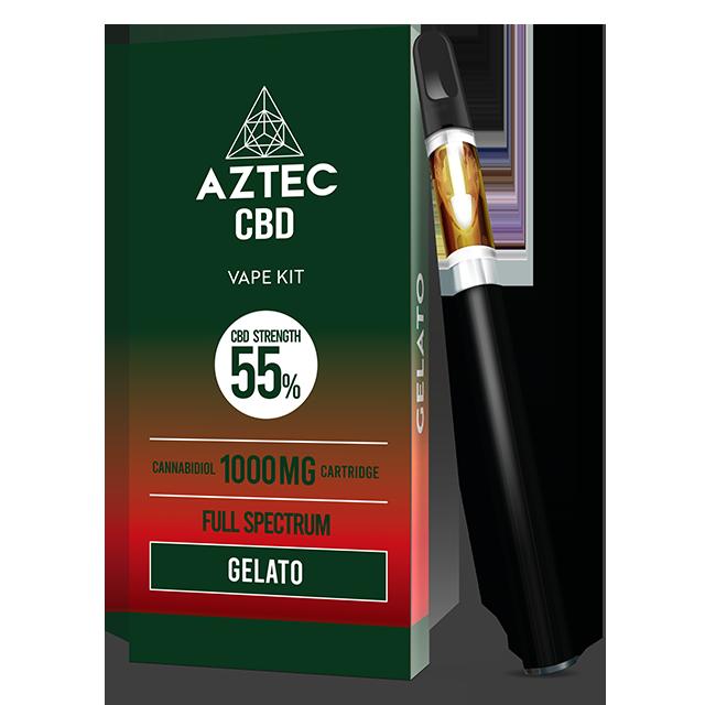 Aztec Gelato 55% CBD Vaping Kit