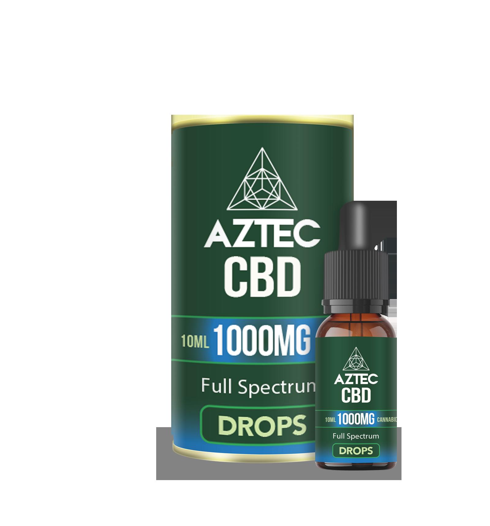 CBD Oil Drops - 1000mg