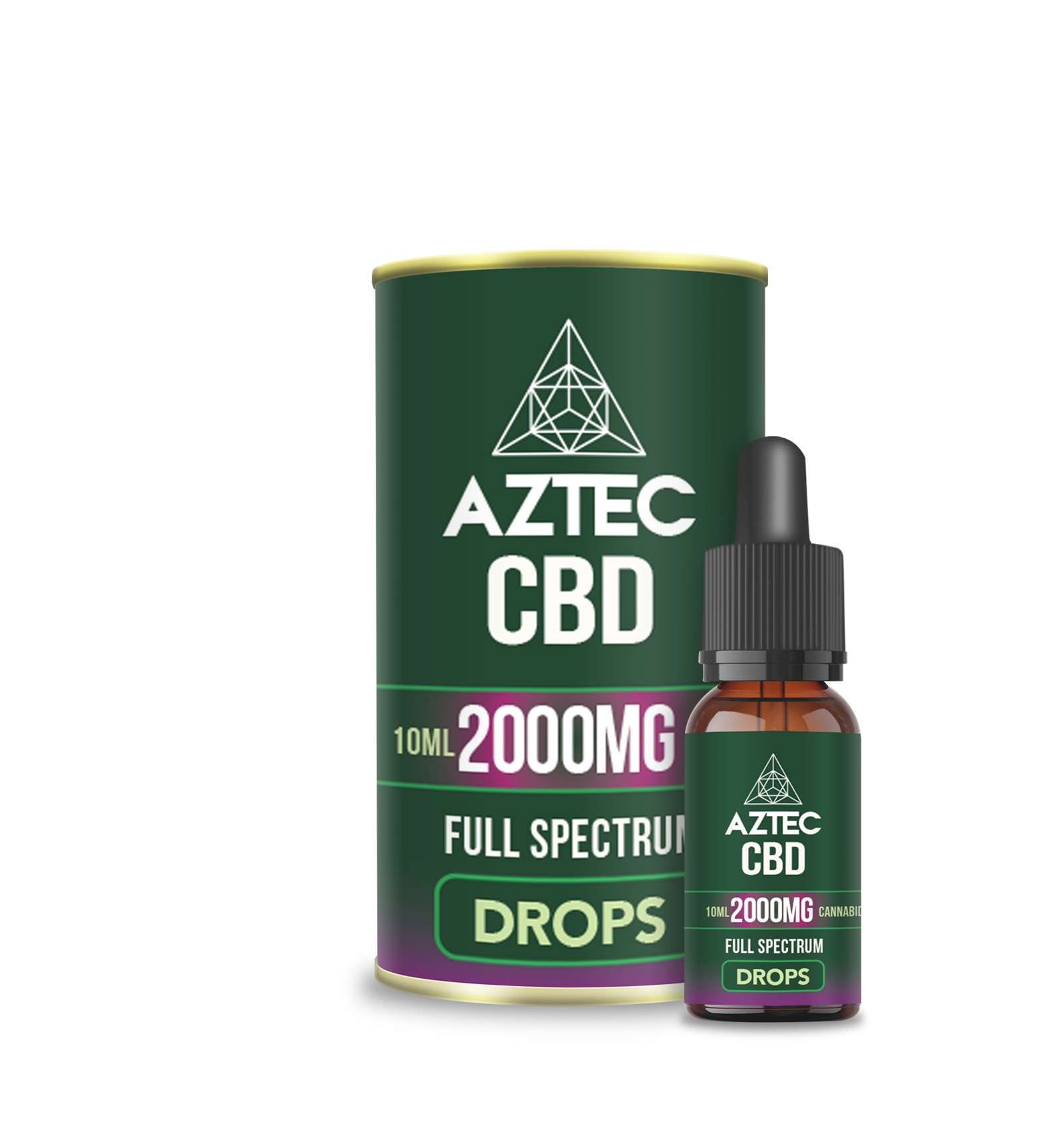 Buy CBD Oil Drops - 2000mg