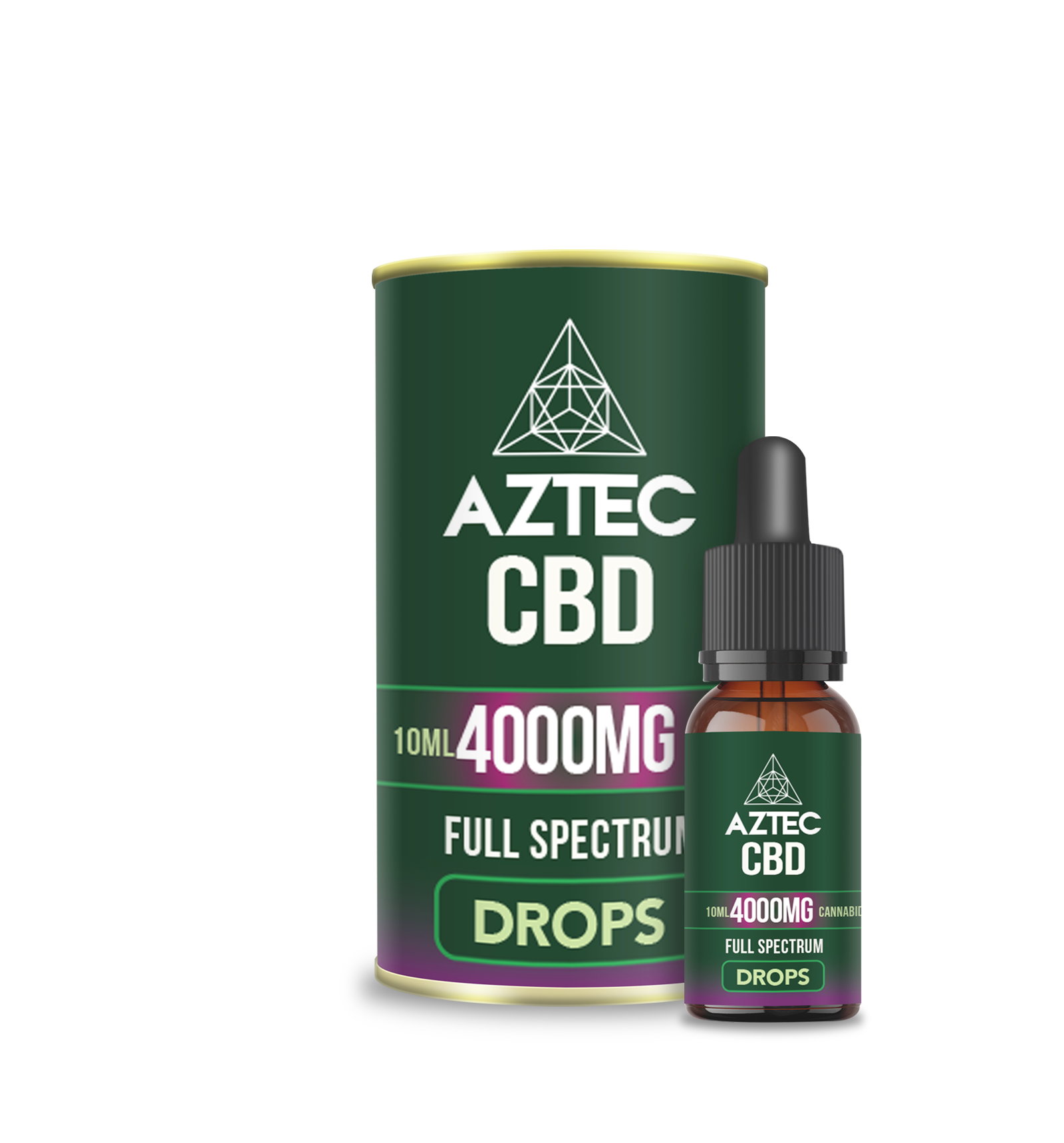 CBD Oil Drops – 4000mg