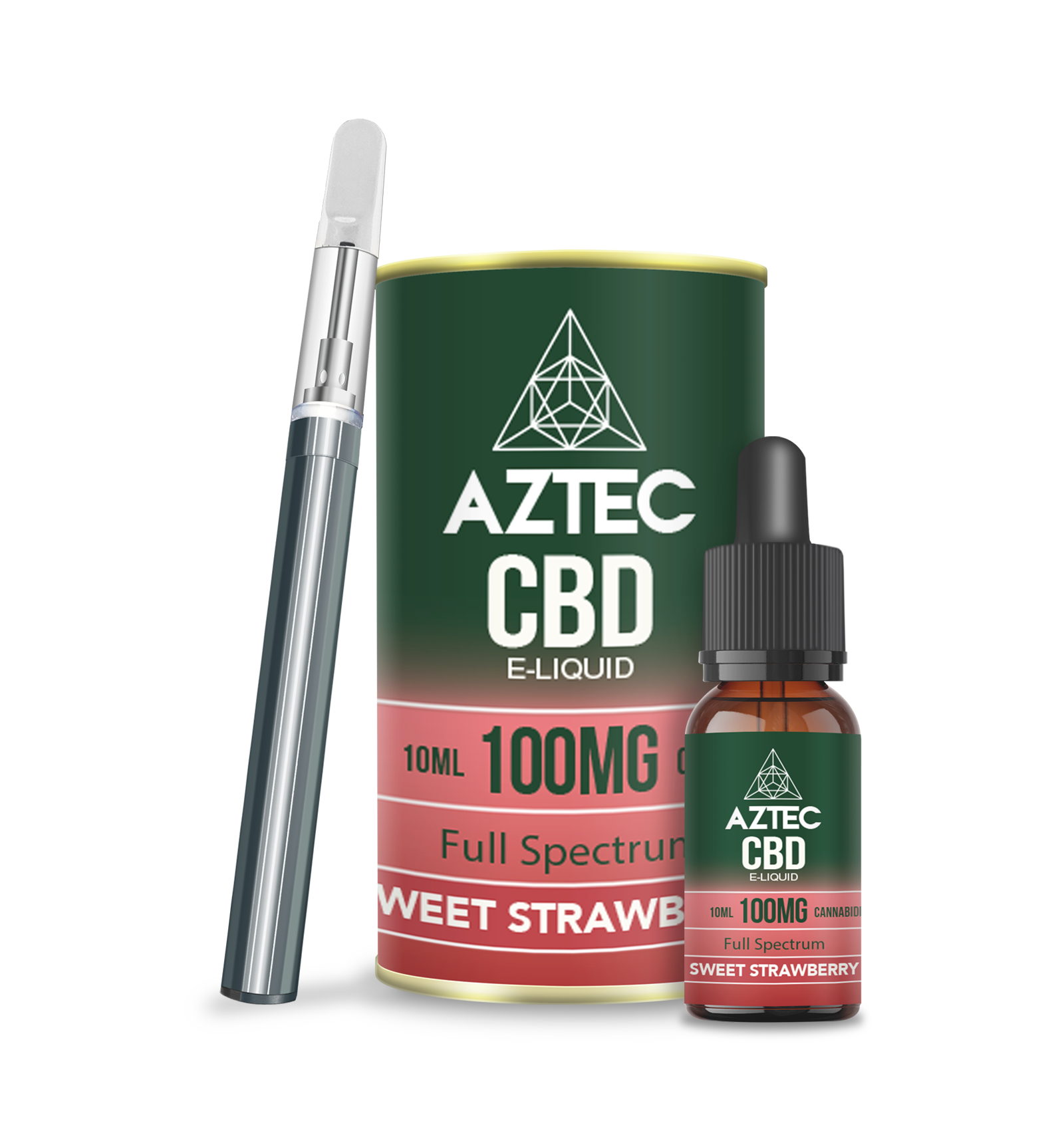Sweet Strawberry CBD Starter kit