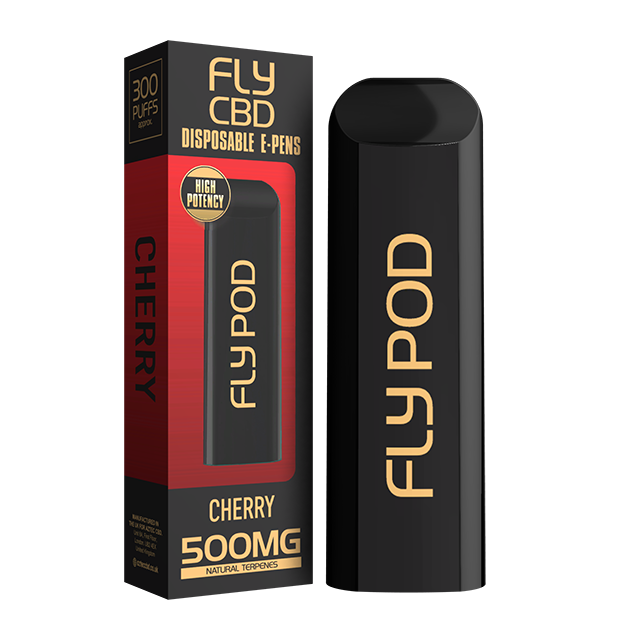 FLY CBD E-PENS CHERRY 500MG
