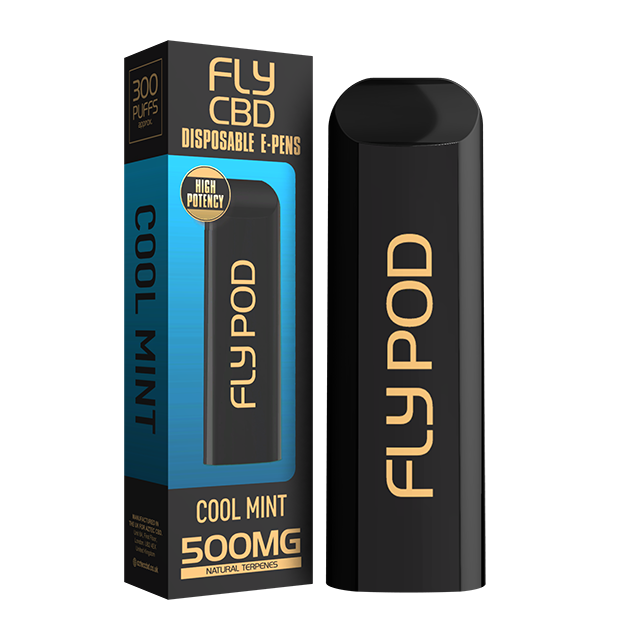 FLY CBD E-PEN COOL MINT 500MG