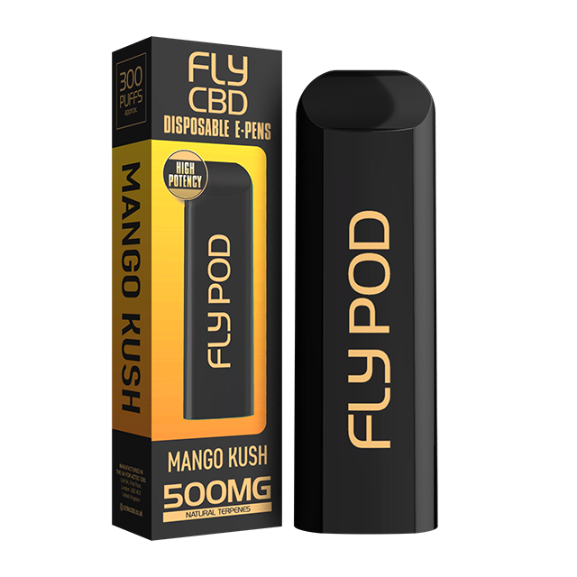 FLY CBD E-PEN MANGO KUSH 500MG