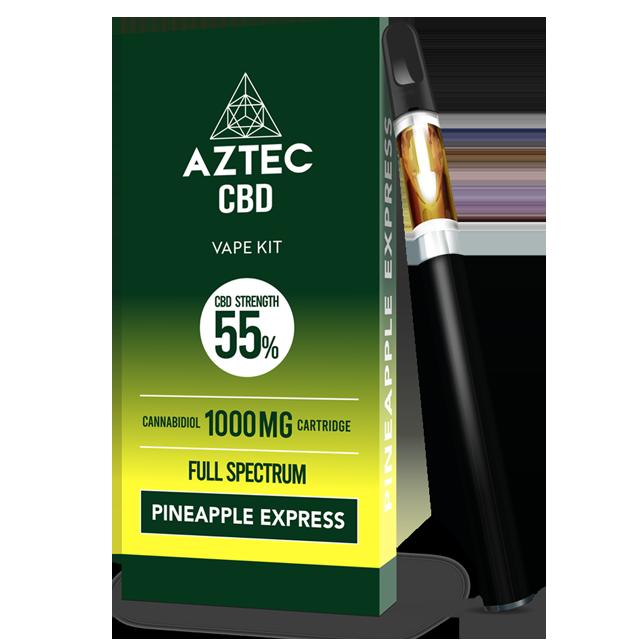 Aztec Pineapple Express 55% CBD Vaping Kit
